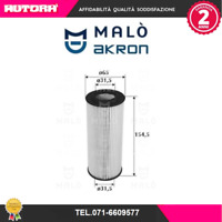 1510044-G Filtro olio Bmw (MALO')