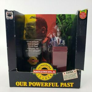 VTG Olmec Toys Martin Luther King Jr. Doll Action Figure OUR POWERFUL PAST 1992