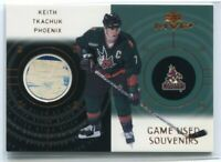 2000-01 Upper Deck MVP Game-Used Souvenirs KT Keith Tkachuk Stick