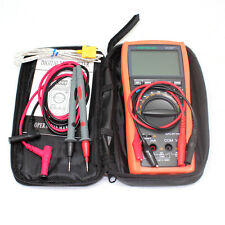 Aidetek vc97+ Auto Range Multimetro Tester Buzz AC DC Duty Frq Temp UK shipdmm R
