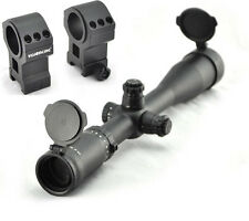 Visionking 4-16x44 Hunting Tactical Rifle scope 223 .308 3006 & Picatinny Rings