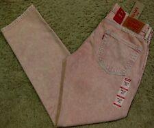 Levis 511 Slim Fit Pink Acid Wash Stretch Denim Jeans Men 28 29 30 31 32 34 38