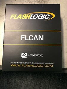 FlashLogic FLCAN Multi-Platform Canbus Enabled Doorlock Interface Car Bypass New