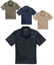 Moderne unifarbene Herren-Freizeithemden