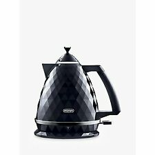 De'Longhi Delonghi Simbolo Electric Kettle 1.7 Litre 3000W Black