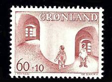 Greenland 1968 Child Welfare, Semi Postal, UNM / MNH