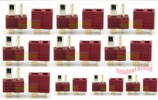 10Pairs Original Amass T Plug Anti-slip Connector 25A for ESC Battery copter Car