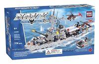 Brictek Helicopter Carrier Building Block Set 15405, 778pcs, 6 yrs+