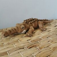 1986 WWF Plush Brown Crocodile Collectable Toy