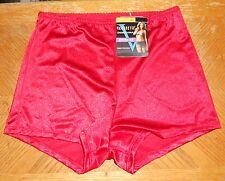 Vassarette Boyshorts Panty Sz Medium  NWT Icon Red