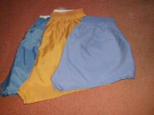 Fantastic Vintage 100%  crispy nylon  shorts,  size 30, 30/32, 32, NEW  FREE P&P