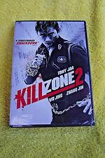 NEW/SEALED DVD! TONY JAA IN KILLZONE 2! CANTONESE, MANDARIN & THAI w/ENGLISH DUB