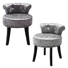 Chesterfield Scroll Back Chair Vanity Dressing Table Stool Piano Stool Bedroom