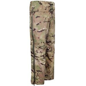 British Army MTP Goretex Waterproof Lightweight Over Trousers Windproof Grade 1