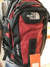 New With Tags The North Face Hot Shot Backpack Laptop Approved Bag Red
