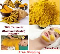 Wild Turmeric - Kasthuri Manjal, for Glowing Skin - 100% Natural, Free Shipping