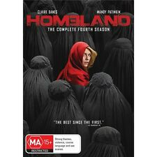 HOMELAND-Season 4-Region 4-New AND Sealed-4 Disc Set-TV Series