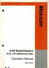 Case IH Tractor Maxxum 5120 5130 5140 5150 Operators Manual
