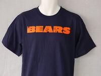 NEW Chicago Bears Football Pullover Short Sleeve Reebok T-Shirt Men's Size M L