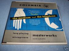 THE MEDIUM AND THE TELEPHONE, 2 LP SET, RECORDS