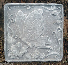 "Heavy duty plastic butterfly stepping stone mold 13.5"" see 5000 molds in store"