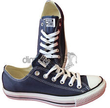 SCARPE CONVERSE ALL STAR BLU OX TG 37 UNISEX BASSE M9697 CANVAS SHOES US UK 4,5
