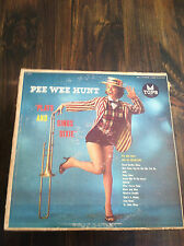 PEE WEE HUNT plays and sings dixie-outside jacket in bad shape Vinyl(store#1178)