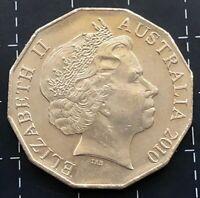 2010 AUSTRALIAN 50 CENT COIN