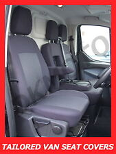 Tailored seat covers Renault Master  2010 - onwards 2 + 1 grey3