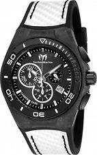 Technomarine Men's TM-116005 Black Carbon  Swiss Chronograph New 2017 Model