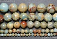 Natural Colorful Serpentine Gemstone Round Beads 4mm 6mm 8mm 10m 12mm 14mm 16''