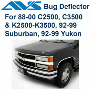 AVS Bugflector Smoke Hood Protector Shield For 88-00 Chevy C/K Truck SUV - 23024
