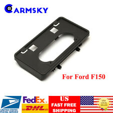 Front License Plate Tag Holder Mount Adapter Bumper Bracket For 09-14 Ford F150