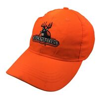 Buckmasters Mens Adjustable Strap Back Hat Hi Vis Orange Cap