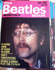 The Beatles Book Monthly Magazine No. 116 Dec 1985