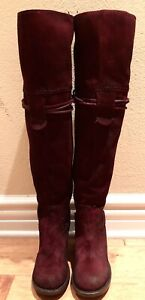 NEW RARE FREEBIRD BY STEVEN BROCK HARDLY DISTRESSED RED BURGUNDY BOOTS SIZE 9