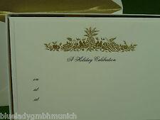 Karten 10er BOX Einladungskarten + Kuvert  ✿ Früchtekorb ✿ Cards & Envelopes