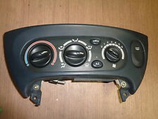 Control Panel Heating Air Conditioning RENAULT MEGANE SCENIC JA yr. bj.97-03