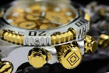 """Invicta Men 50mm Chaos """"Rise of the Sun"""" Silver Plated Screw Down Bracelet Watch"""