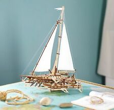 1992759-ugears trimarano a vela Merihobus modello in legno 3d - Puzzle per Adult