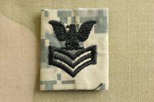Us Navy Usn Ia E-6 Po1 Rank Army Acu Parka & Shirt Camouflage Camo Uniform Patch