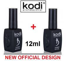 SET! BASE + TOP 12ml. Kodi Professional - Gel LED/UV ORIGINAL Rubber Gummi Basis