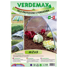 Verdemax telo di forzatura microforato m 2x5 cod2555 utilizzo per tunnel,colture