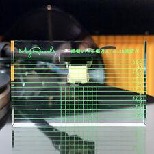 Tonearm VTA & Cartridge Azimuth Alignment Ruler Headshell Alignment Block 10mm