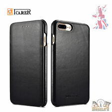 Genuine Leather Cover Luxury Mobile Phone Case For Apple iPhone 7+ Plus  iCarer®