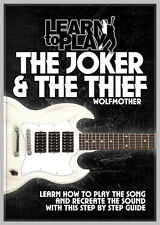 TUITIONAL MUSIC DVD WOLFMOTHER THE JOKER AND THE THIEF LEARN TO PLAY DVD