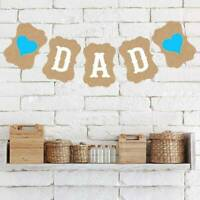 Father's Day Pull Flower Alphabet Banner Particular Design Simple Pull Flag YS