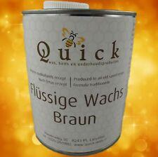 Fluessigwachs Kwiek Quick  braun 1Ltr. perfecte Restauration alle dunkle Hölzern