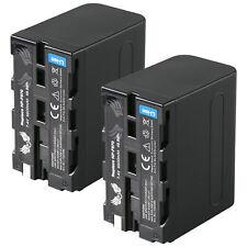 2x SK Akku für Sony NP-F970 | 6600mAh | NP-F550 NP-F750 NP-F960 NP-F980 |1060386