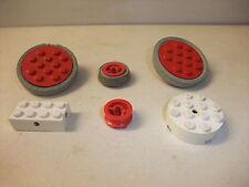 o Rarität LEGO System Spielzeug Bausteine Konvolut Räder Drehscheibeibe 50-60er
